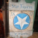 Star Tavern Sign